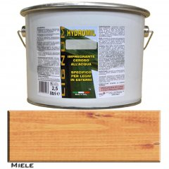 LIGNUM HYDROMIL HONEY PRIMER WATER FOR INDOOR AND OUTDOOR