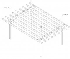 DIY Construction project for gazebo TYPE 1 400x570