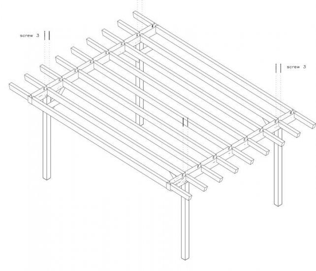 Progetto Per Costruzione Gazebo Type 1 400x570