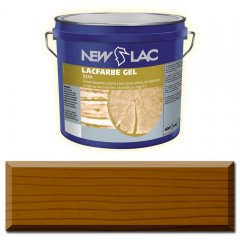 PROTECTIVE PAINT FOR WOOD LACFARBE GEL Teak color