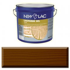 PROTECTIVE PAINT FOR WOOD LACFARBE GEL color Ebony