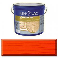 PROTECTIVE PAINT FOR WOOD LACFARBE GEL color Red