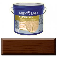 PROTECTIVE PAINT FOR WOOD LACFARBE GEL color Dark walnut