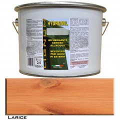 LIGNUM HYDROMIL LARICE IMPREGNANTE PER LEGNO WATER FOR INDOOR AN