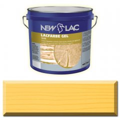 PROTECTIVE PAINT FOR WOOD LACFARBE GEL color Yellow Deco