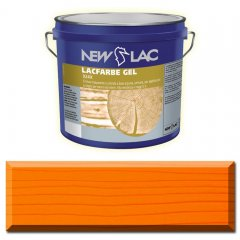 PROTECTIVE PAINT FOR WOOD LACFARBE GEL Orange color