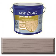 PROTECTIVE PAINT FOR WOOD LACFARBE GEL color Dark gray