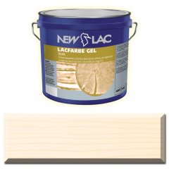 PROTECTIVE PAINT FOR WOOD LACFARBE GEL color Matt white