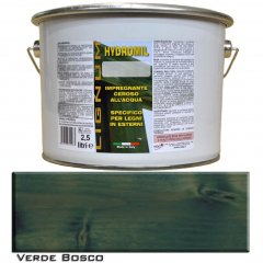LIGNUM HYDROMIL FOREST GREEN WATER PRIMER FOR INDOOR AND OUTDOOR