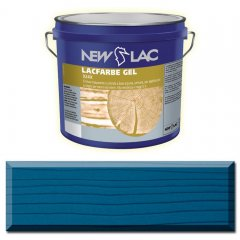 PROTECTIVE PAINT FOR WOOD LACFARBE GEL color Blue