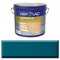 PROTECTIVE PAINT FOR WOOD LACFARBE GEL Azure