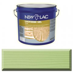 PROTECTIVE PAINT FOR WOOD LACFARBE GEL color Green
