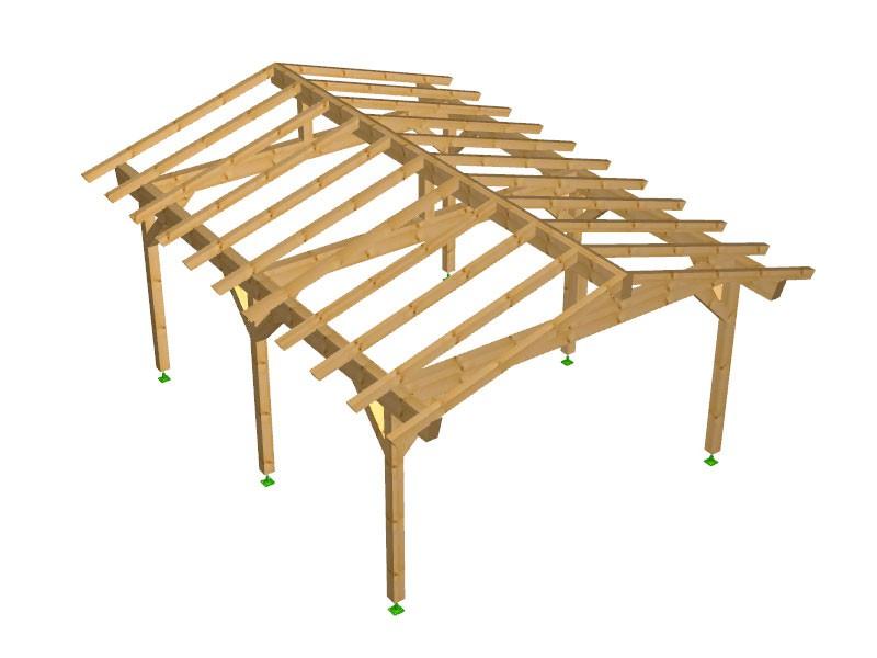 Progetto per costruzione gazebo type 3 490x600 diy gazebo for Progetti fai da te legno pdf