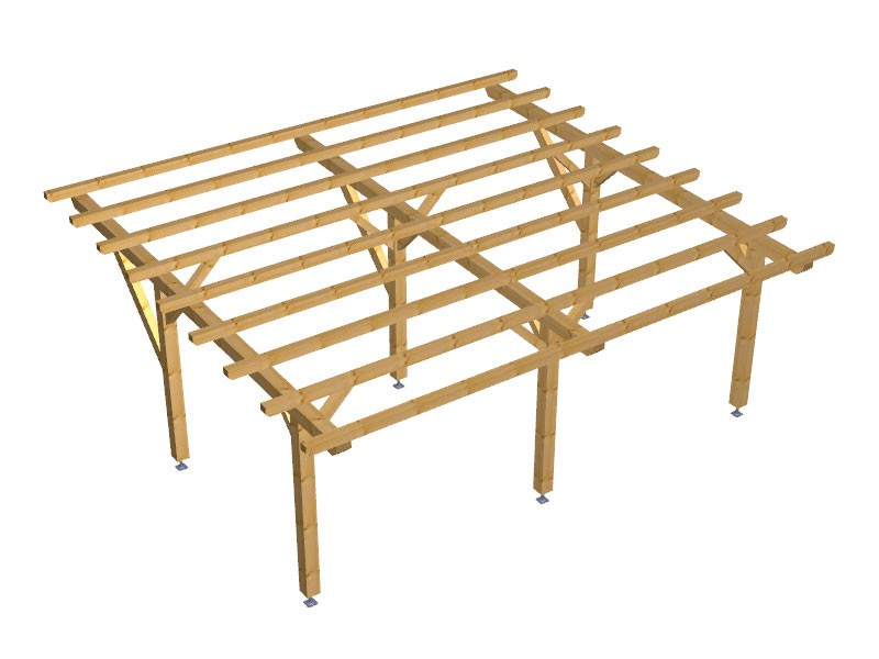 Progetto per costruzione gazebo type 5 700x600 diy gazebo for Progetti fai da te legno pdf