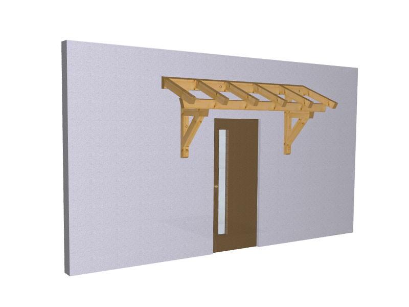 Progetto per costruzione gazebo tettoia a muro diy wall for Progetto gazebo in legno pdf