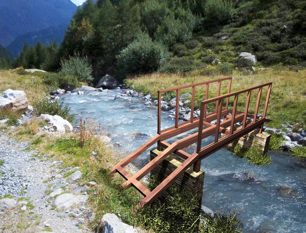 Progetto per costruzione ponte in legno 300 diy wooden for Progetti fai da te legno pdf
